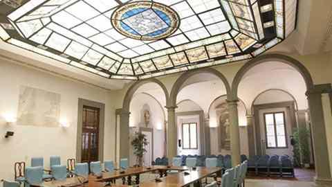 Palazzo Sacrati Strozzi- sala pegaso- foto tratta dal sito ufficiale regione