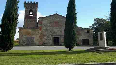 Badia di Pozzeveri, altopascio, lucca, via francigena