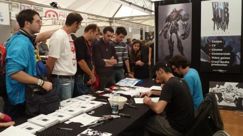lucca comics 12_ incontro disegnatori