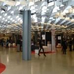 Area espositori alla Fortezza da Basso di Firenze per BTO 2013