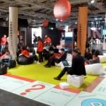 L'area relax creata per l'edizione 2013 di BTO