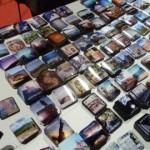 Le calamite di InToscana in regalo a chi si faceva scattare una foto per i social