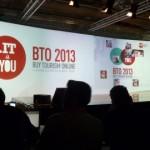 Il palco della main hall a BTO 2013
