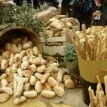 Pane, pappa al pomodoro, verdure, castagnaccio, Chianti: buffet sano e molto buono a BTO 2013!