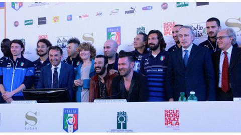 Negramaro e Nazionale Italiana Calcio