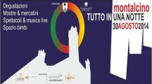 A Montalcino (Si) la terza edizione della Notte Bianca