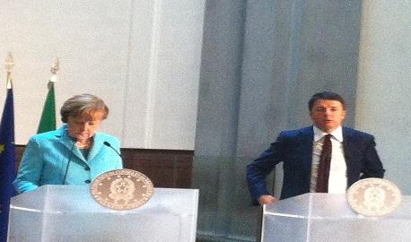 Bilaterale Renzi-Merkel a Firenze: le riforme al centro del vertice