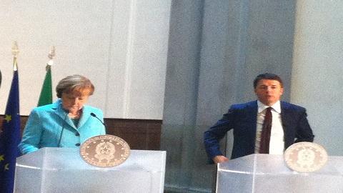 Vertice Renzi-Merkel