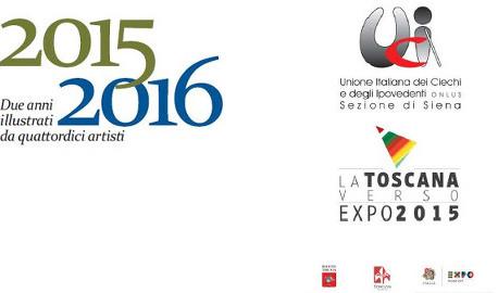 Toscana: Calendario per non vedenti andrà all'Expo 2015