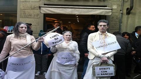 manifestazione fratelli d'italia