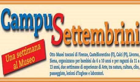 Toscana: a settembre i campi estivi al museo