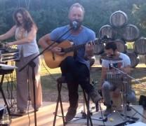 Sting e Trudie: concerto privato per festeggiare l'estate in Toscana