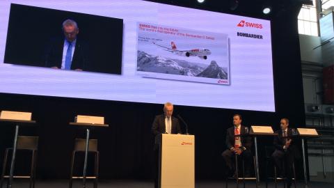 Thomas Klühr, Amministratore delegato di Swiss Air Lines