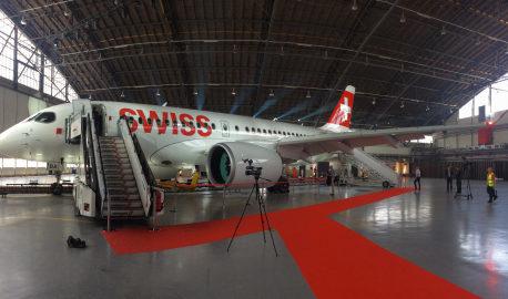 Nuovo Bombardier CS100: da settembre collegherà Zurigo a Firenze e Milano