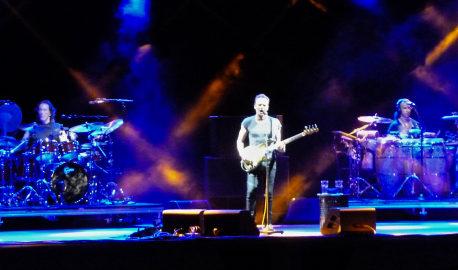 Back to bass tour: 5500 fans per il concerto di Sting al Visarno di Firenze
