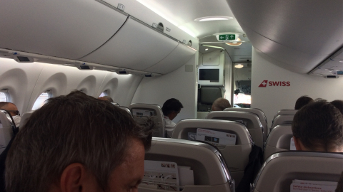 volo inaugurale bombardier cs100