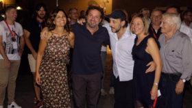 """Vent'anni de """"Il Ciclone"""": tremila in piazza per Pieraccioni"""