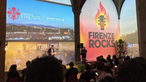 firenze rocks 2018 conferenza stampa