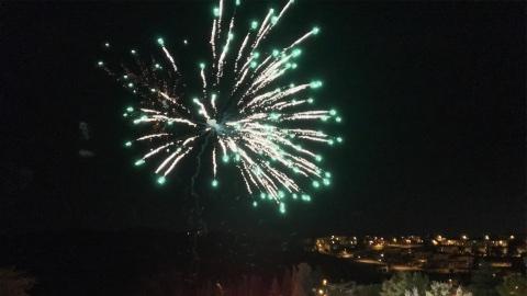 fuochi d'artificio impruneta