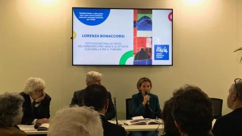 Lorenza Bonaccorsi sottosegretario Mibact