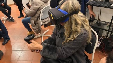 esperienza virtuale per Tutankamon viaggio verso l'eternità