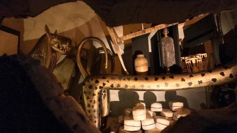 tomba di Tutankamon ricostruita