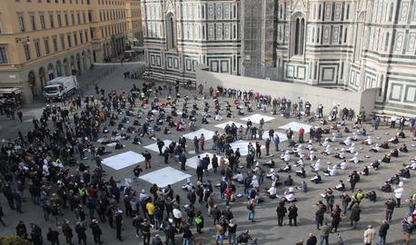 #siamoaterra: Fipe Confcommercio in piazza anche a Firenze